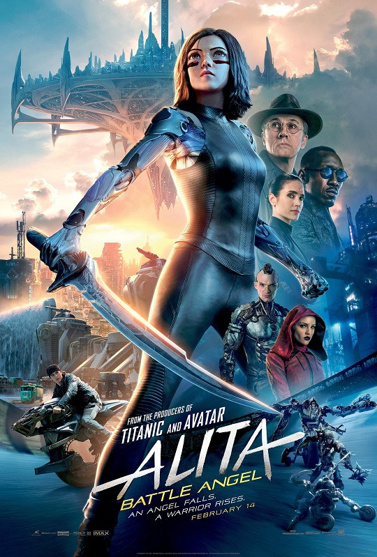 Alita: Battle Angel (2019) New Dual Audio Hindi 450MB DVDScr 480p x264