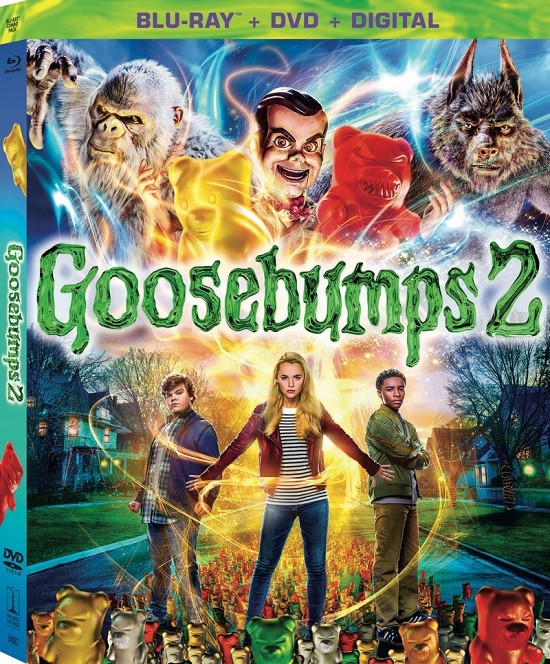 Goosebumps 2 Haunted Halloween (2018) Dual Audio ORG Hindi 720p BluRay 700mb