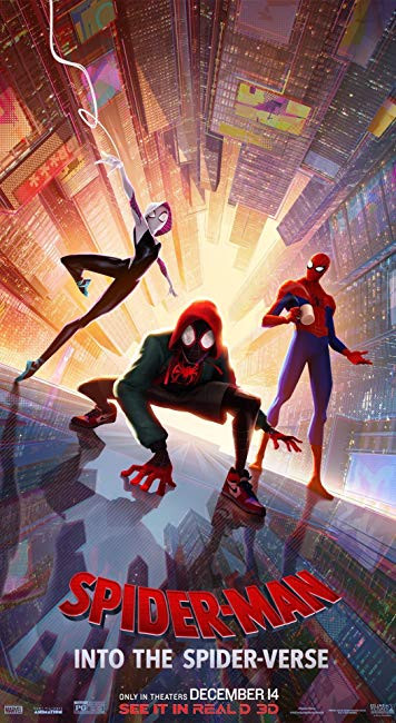 Spider-Man: Into The Spider-Verse 2018 Dual Audio 300MB HDRip 480p x264 ESubs
