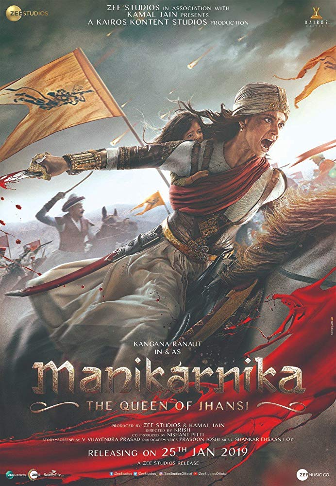 Manikarnika: The Queen of Jhansi (2019) Hindi 400MB HDRip 480p ESubs
