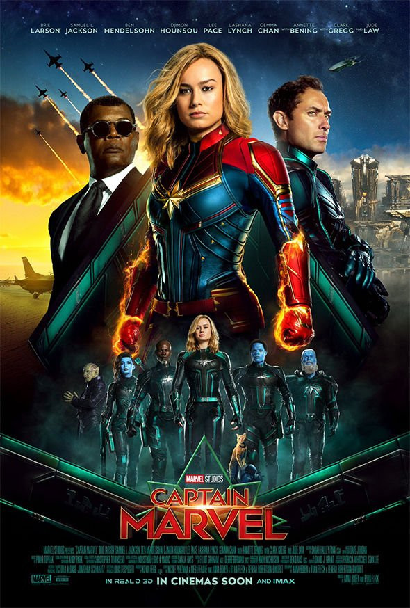 Captain Marvel 2019 Dual Audio Hindi NEW 350MB HDTS 480p x264