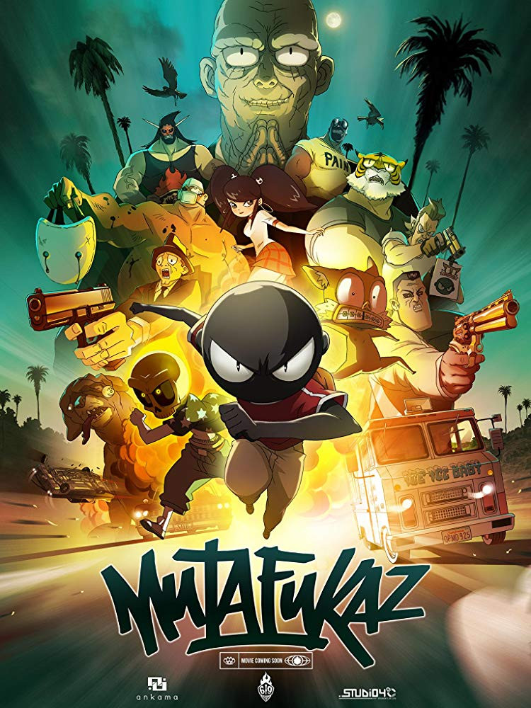 MFKZ (2019) English 720p HDRip x264 800MB