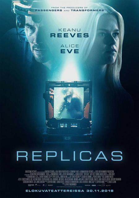Replicas (2018) English 300MB BluRay 480p x264 ESubs