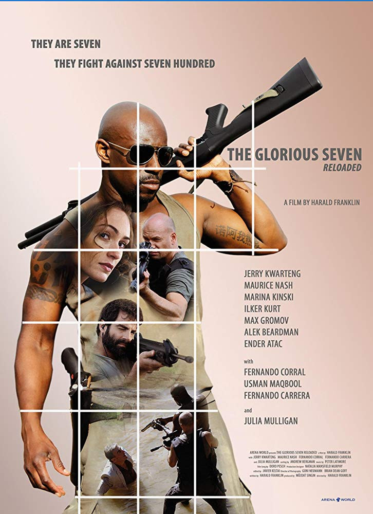 The Glorious Seven 2019 English 300MB HDRip 480p x264