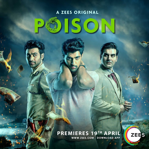 18+ Poison 2019 Hindi A ZEE5 Original All Ep Complete Web Series 650MB HDRip 480p