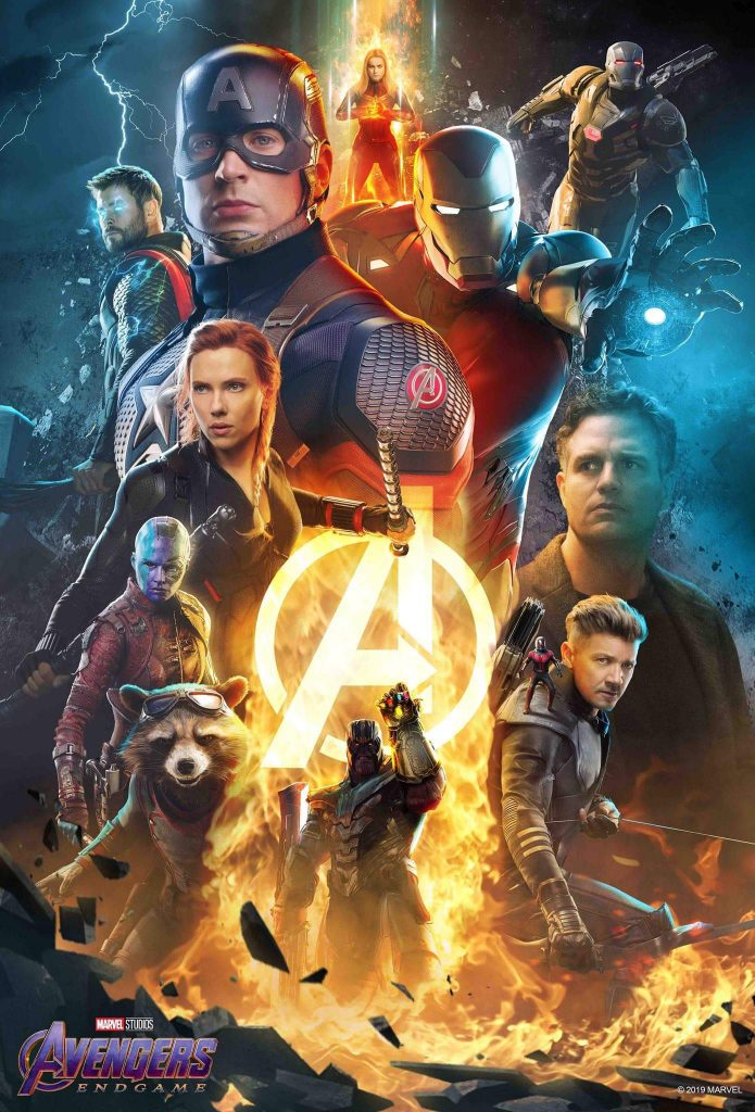 Avengers Endgame 2019 English 450MB NEW HDCAM 480p x264