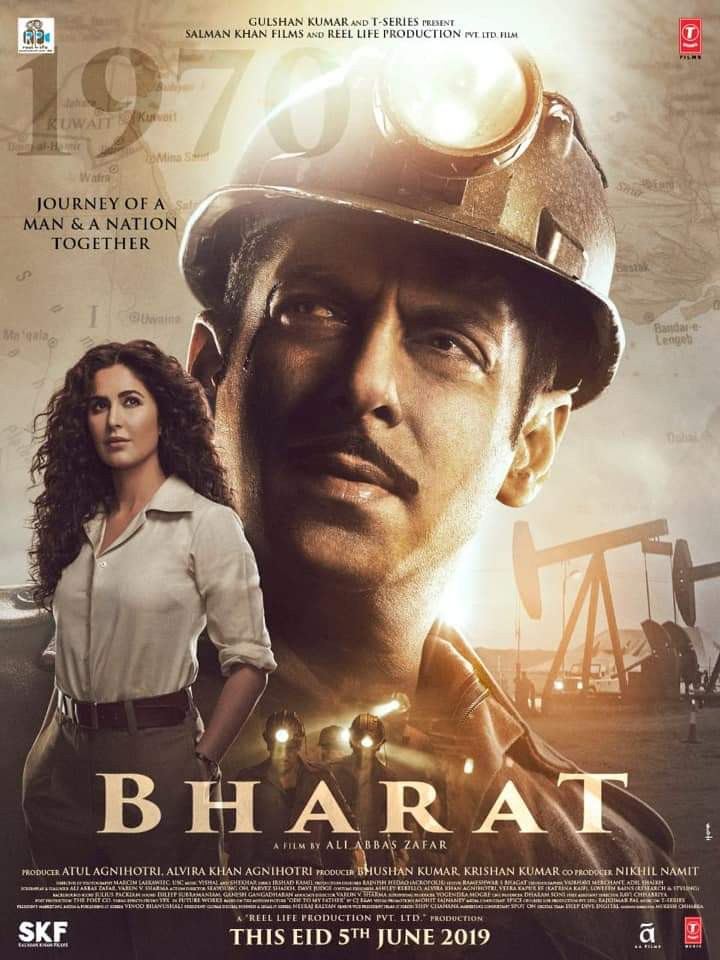 Bharat (2019) Hindi Movie Official Trailer 720p HDRip Download