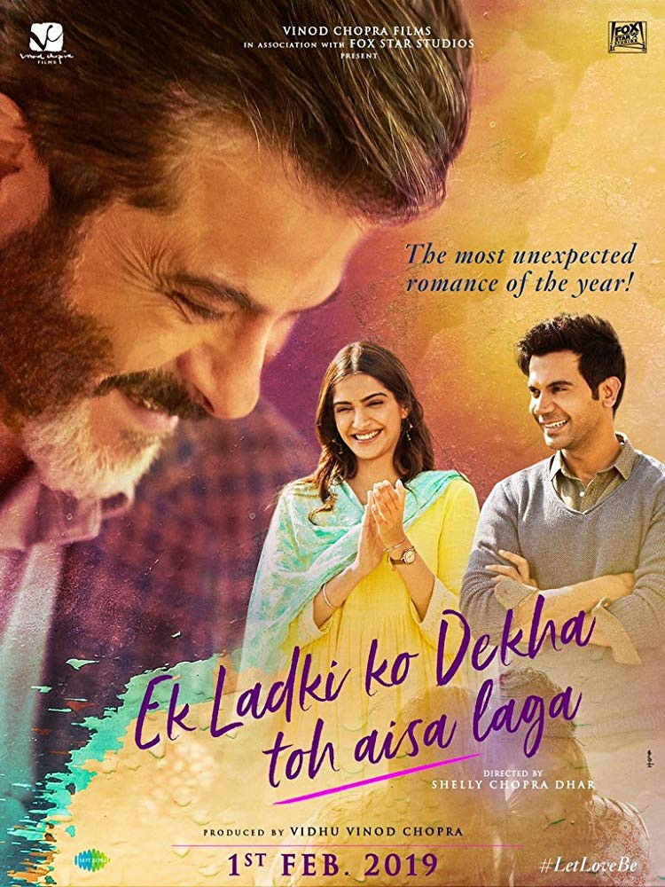 Ek Ladki Ko Dekha Toh Aisa Laga (2019) Hindi Movie 300MB HDRip 480p ESubs