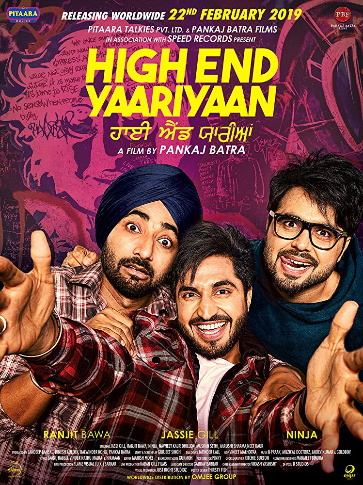 High End Yaariyaan (2019) Punjabi 300MB HDTVRip 480p x264
