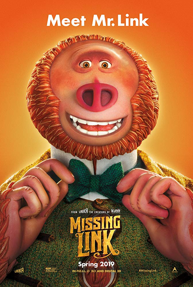 Missing Link 2019 English 300MB HDCAM 480p x264