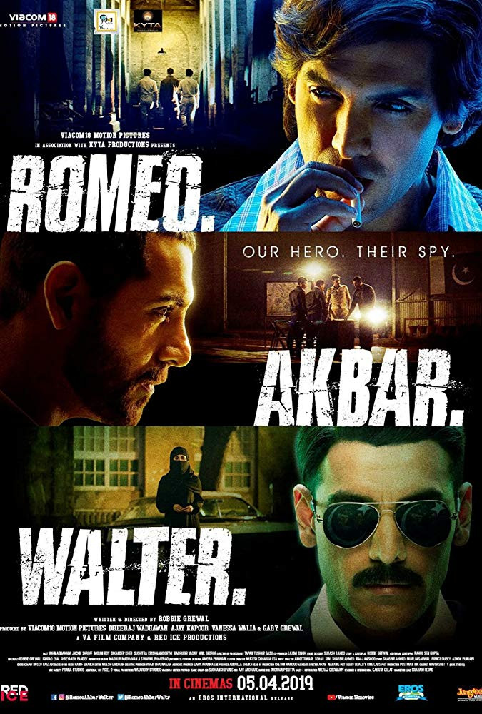 Romeo Akbar Walter (2019) Hindi Full Movie 350MB Pre-DVDRip 480p x264