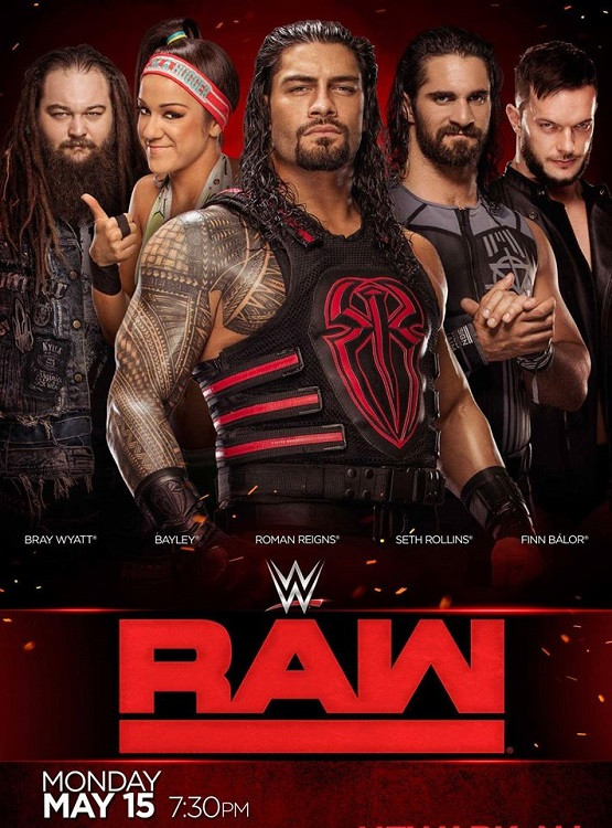 WWE Monday Night Raw (2th April 2019) English 400MB HDTV 480p x264