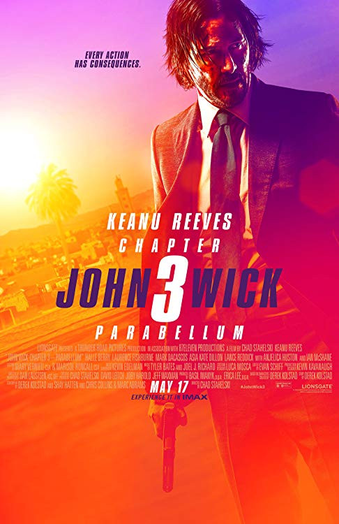 John Wick: Chapter 3 – Parabellum (2019) 400MB HDRip 480p [English – Hindi Sub]