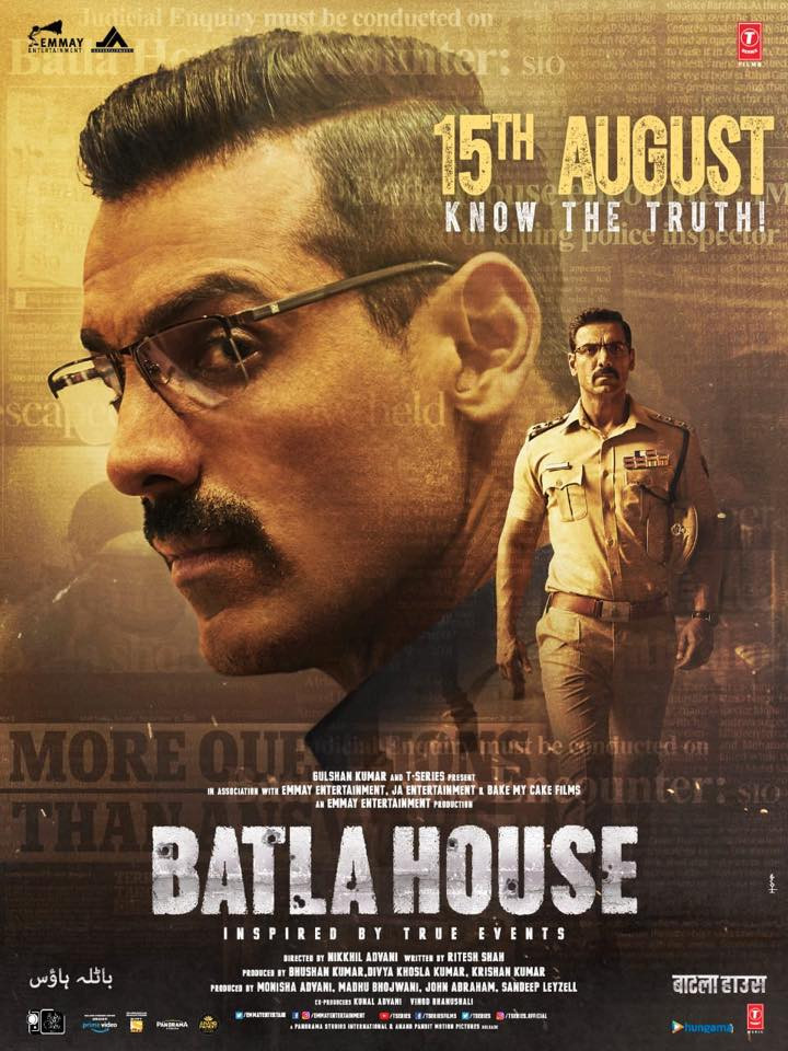 Batla House 2019 Hindi Movie 400MB Pre-DVDRip 480p