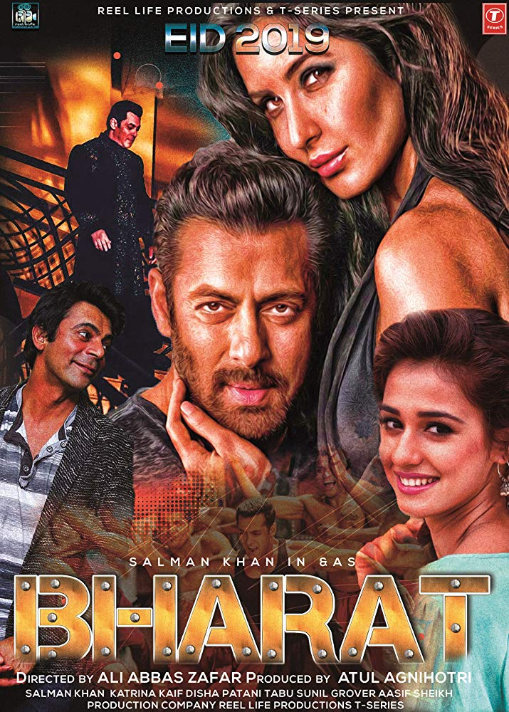 Bharat 2019 Hindi 700MB HDRip 720p HEVC x265 ESubs