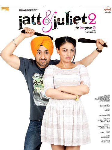 Jatt & Juliet 2 2019 Hindi Dubbed 550MB HDRip 720p HEVC x265