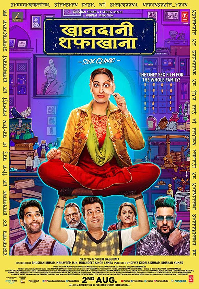 Khandaani Shafakhana 2019 Hindi 350MB Pre-DVDRip 480p