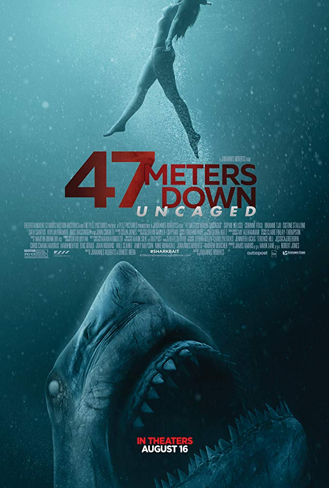 47 Meters Down: Uncaged 2019 English 260MB