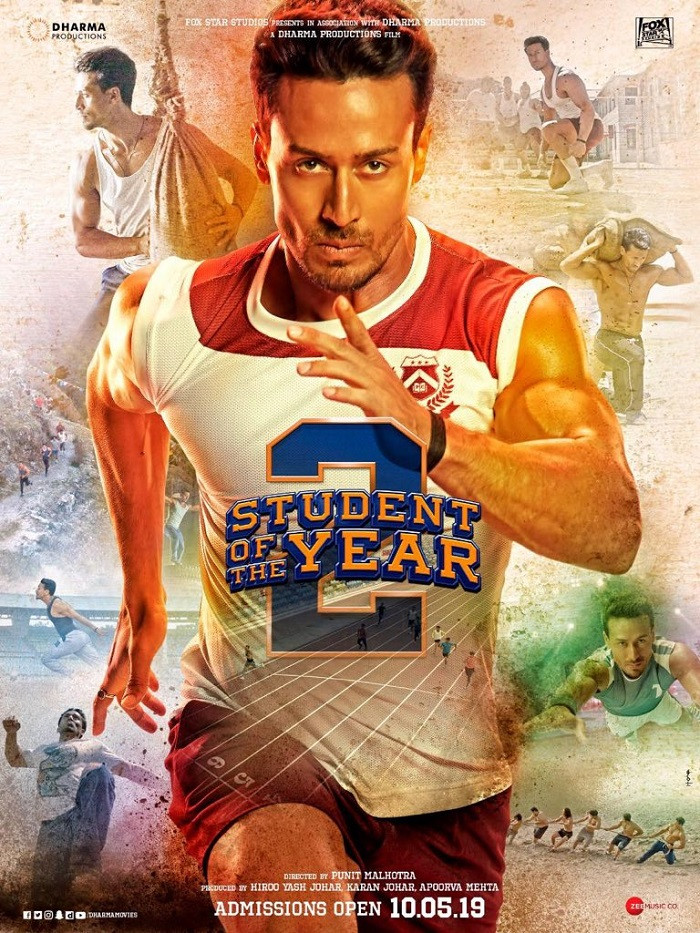 Student Of The Year 2 (2019) Hindi Movie 720p HDRip 1.2GB ESubs