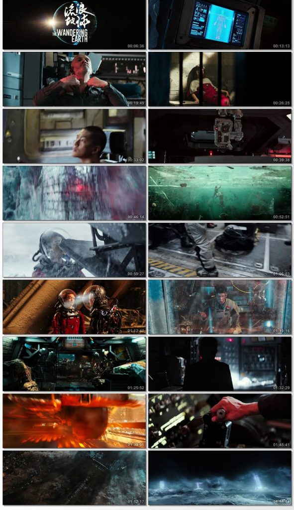 The Wandering Earth (2019) Dual Audio 400MB Web-DL 480p