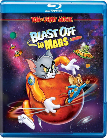 Tom and Jerry Blast Off to Mars! (2005) Dual Audio Hindi 250MB BluRay 480p