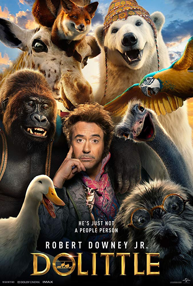 Dolittle (2020) Dual Audio Hindi 720p HDRip 852MB ESub Download