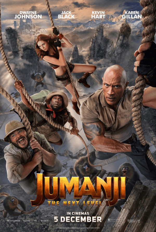 Jumanji The Next Level 2019 Hindi Dual Audio 437MB HDRip
