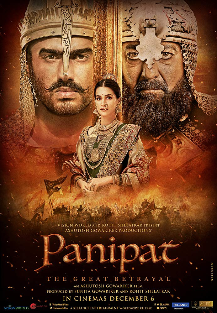 Panipat 2019 Hindi Movie 720p HDRip 905MB